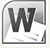 Word Launch Icon 2010