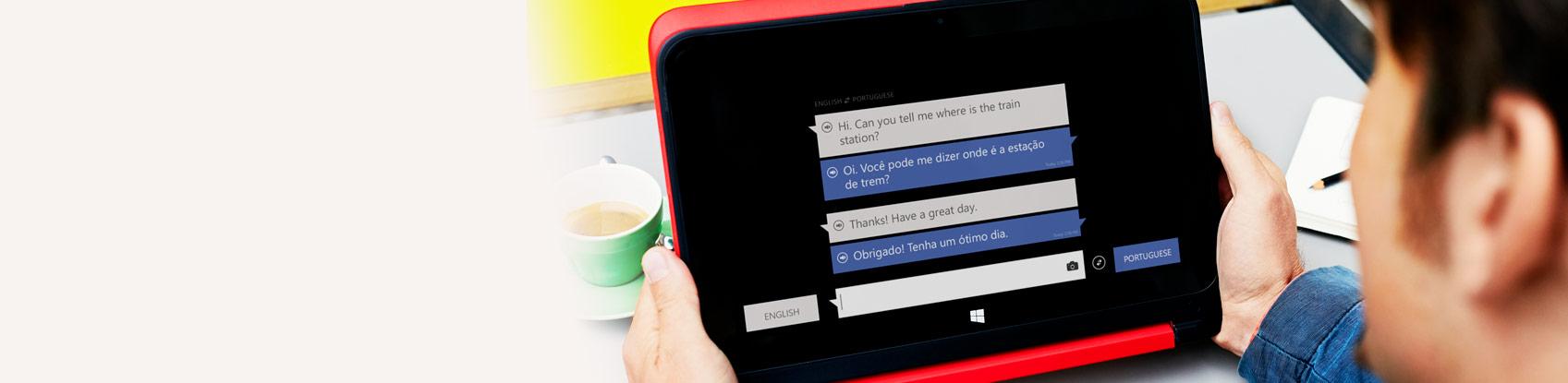Microsoft Translator for Windows