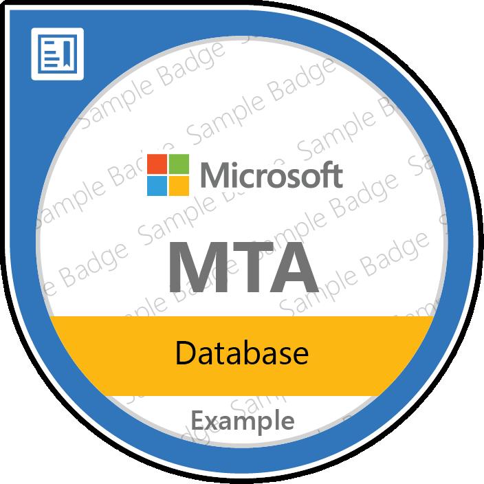 MTA: Database | Certificate Microsoft pentru administratori