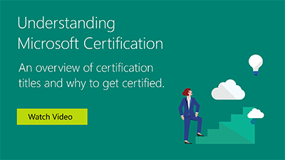 microsoft office certifications overview microsoft learning