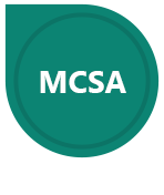 MCSA badge