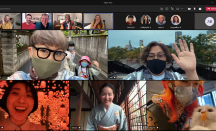 Image for: Closer together in Tokyo: How Microsoft Teams created a shared virtual experience