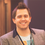 An image of Jeremy Thake, a newly appointed tTechnical pProduct mManager at Microsoft responsible for the Visual Studio Developer story for Office 365 development