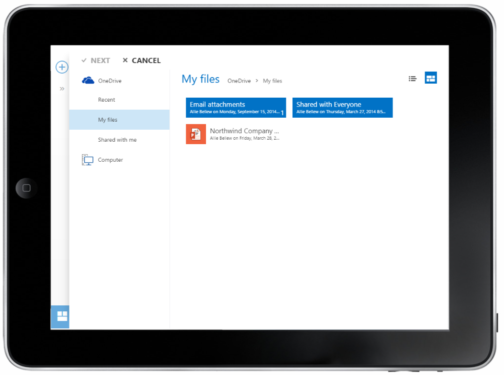 share files with Outlook Web App 10 v2