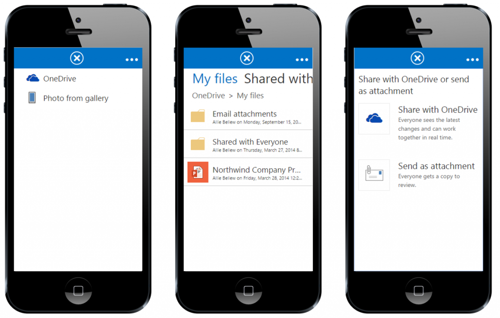 share files with Outlook Web App 9 v2