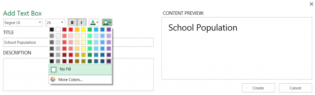 Power Map for Excel May update for Office 365 13