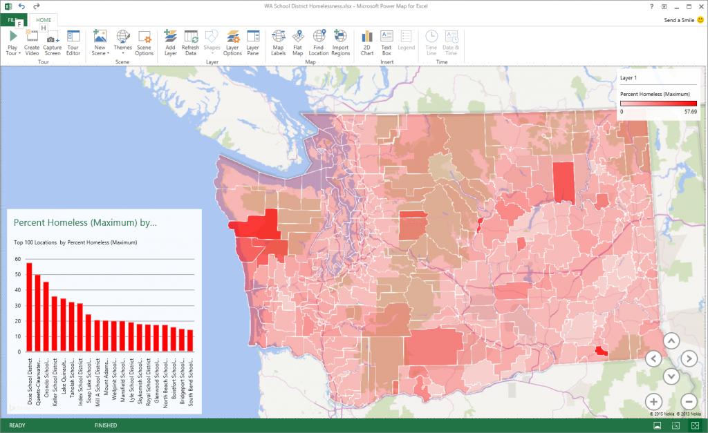 Power Map for Excel May update for Office 365 7