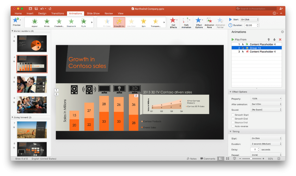 What is new in PowerPoint 2016 for Mac 3