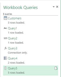 Power Query for Excel September 2015 update 5