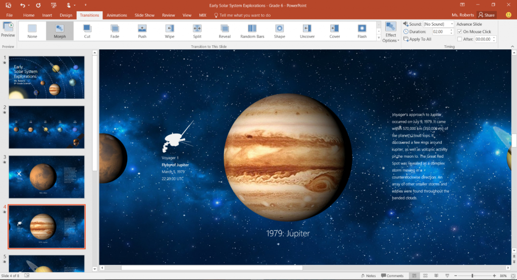 The evolution of PowerPoint 2