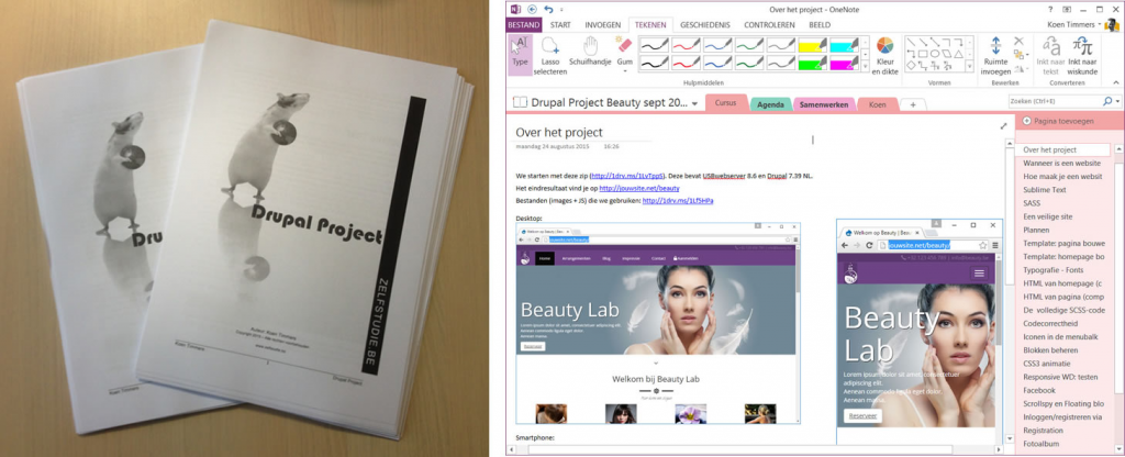 Global learning and collaboration with OneNote 1