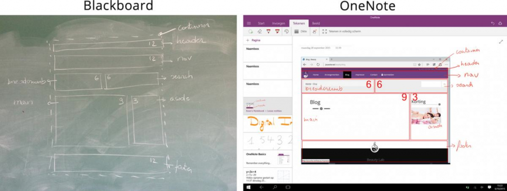 Global learning and collaboration with OneNote 4