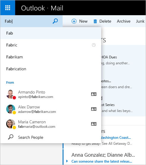 Outlook out of preview 7b