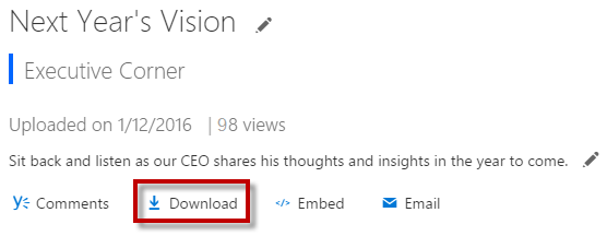 Office 365 Video March 8