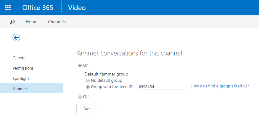 Office 365 Video March 9