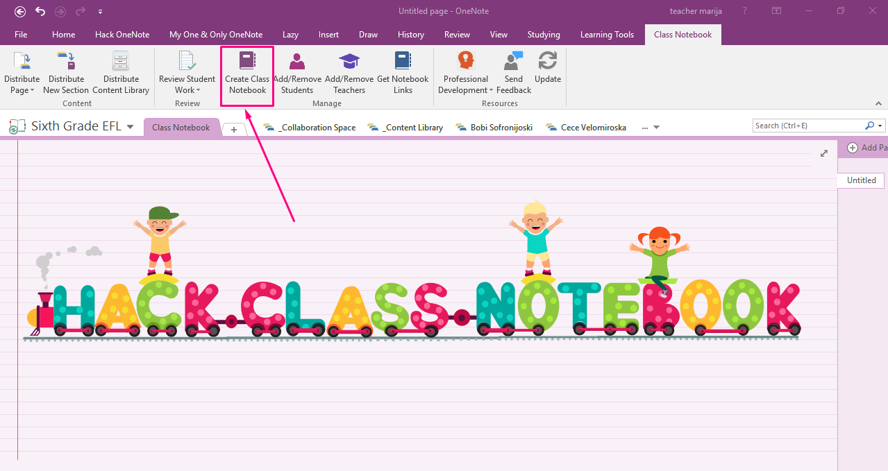 OneNote Class Notebook is the top app 1