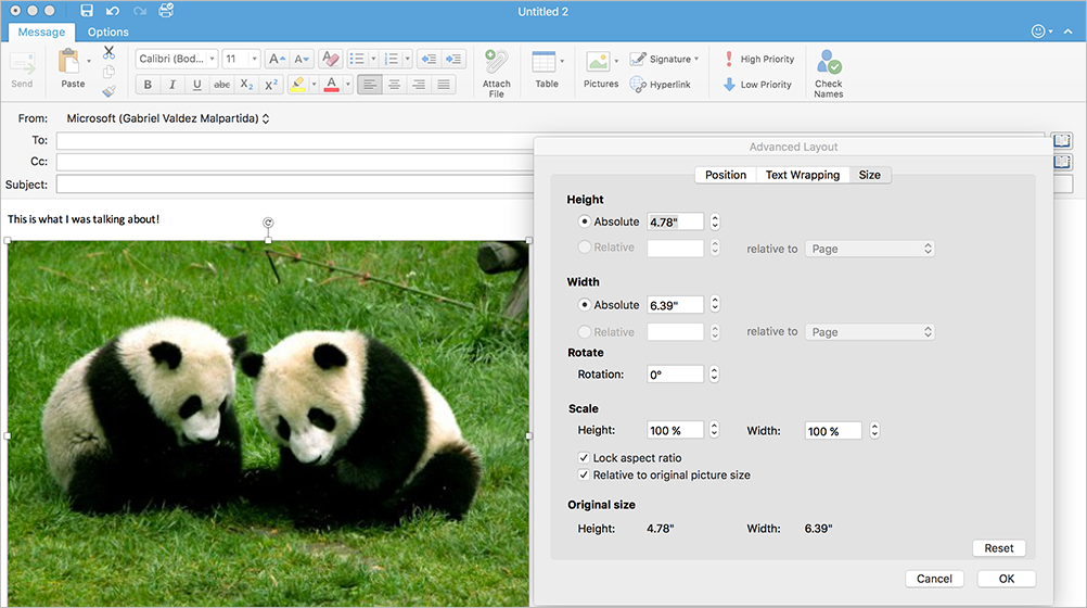 New editor coming to Outlook 2016 for Mac 1b