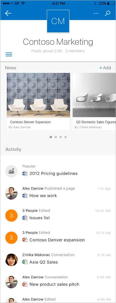 SharePoint the mobile and intelligent intranet 4