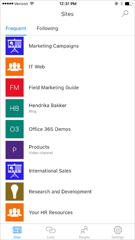 the SharePoint mobile app for iOS is now available 1