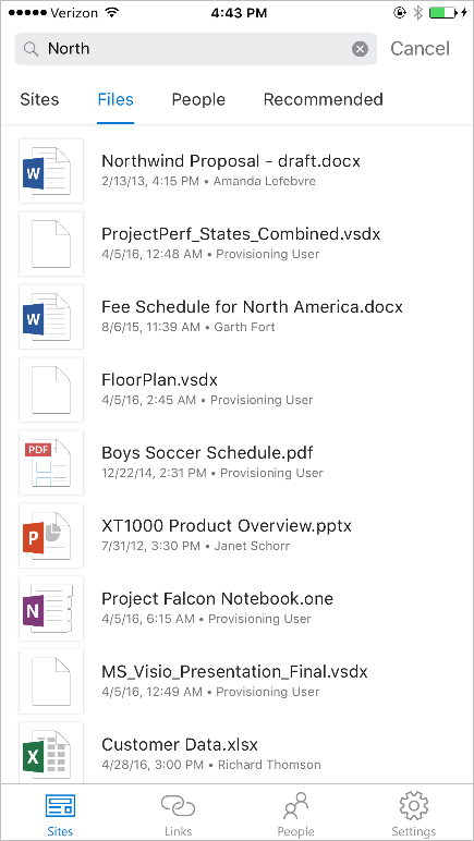 the SharePoint mobile app for iOS is now available 10