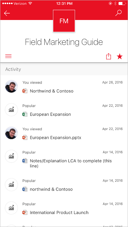 the SharePoint mobile app for iOS is now available 2
