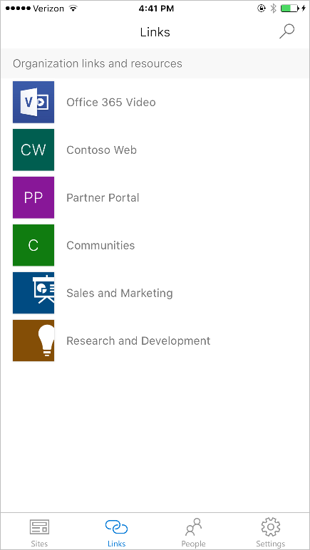 the SharePoint mobile app for iOS is now available 4