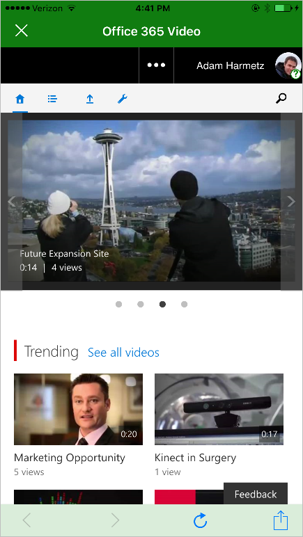 the SharePoint mobile app for iOS is now available 6