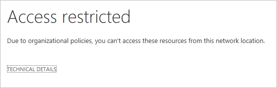 Enhanced conditional access controls encryption controls and site classification in SharePoint and OneDrive 3
