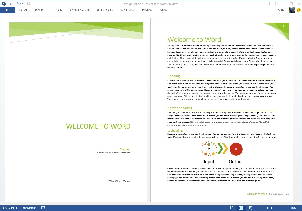 Starting off right: Templates and built-in content in the new Word For Word Title Page Templates