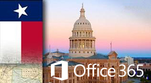 Office 365 customer State of Texas