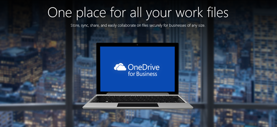 One place for all your work files — introducing OneDrive ... Onedrive For Business