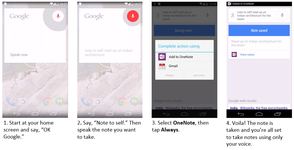 Create Quick Notes in OneNote using only your voice - Microsoft 365 Blog