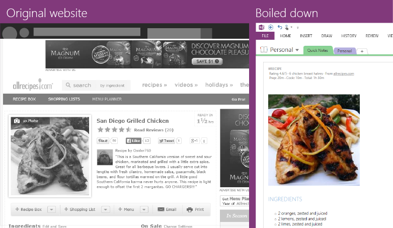 let s get cooking collecting recipes in onenote just got better