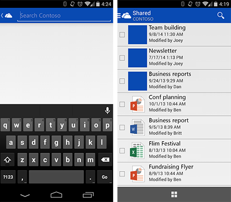 All photos view and more comes to the OneDrive app for