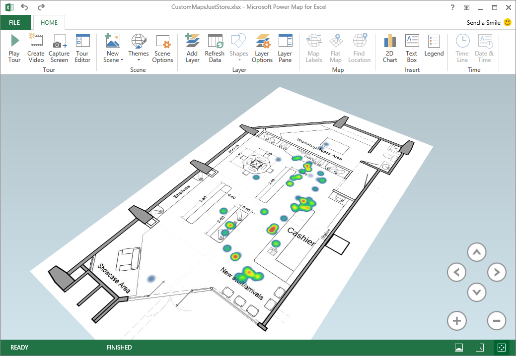 Excel Power Map September update - Microsoft 365 Blog