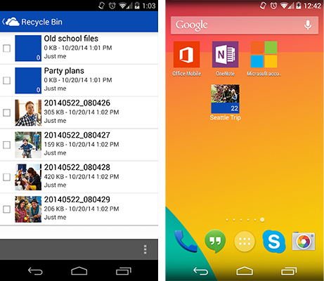 Windows Phone app gets a new UI and easy access to your work