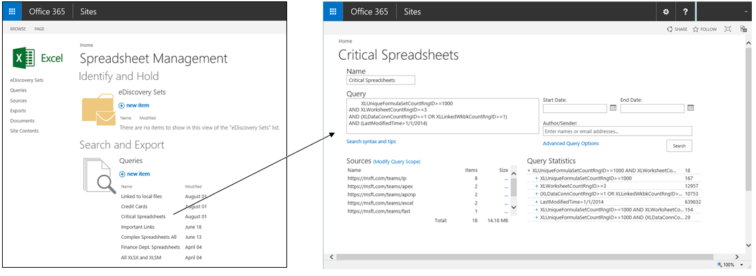 Office 365 Search is now smarter about spreadsheets