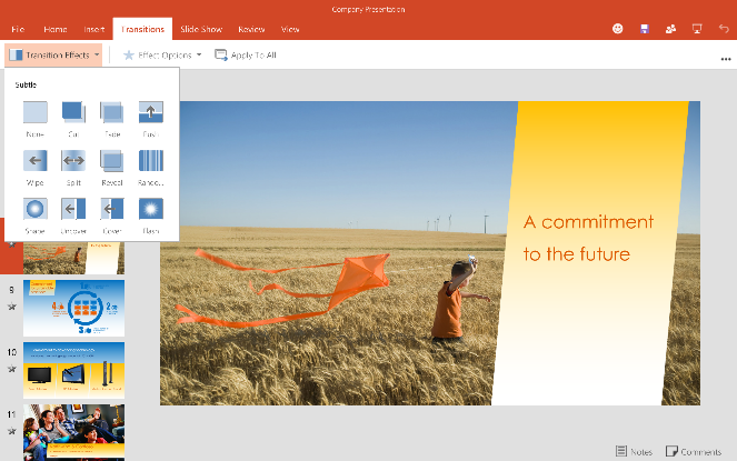 how to add recording to powerpoint on android