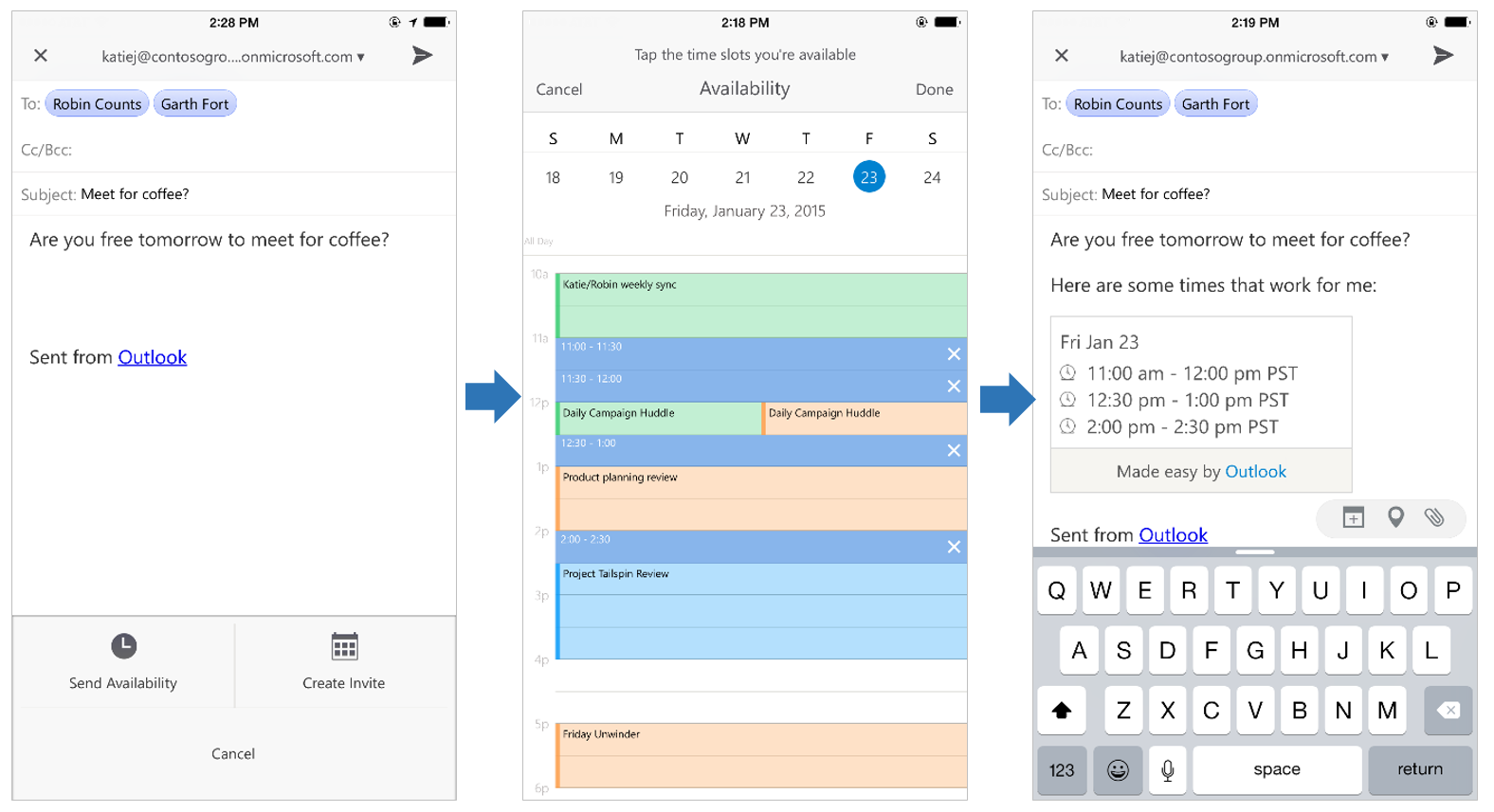 A Deeper Look At Outlook For Ios And Android Microsoft 365 Blog