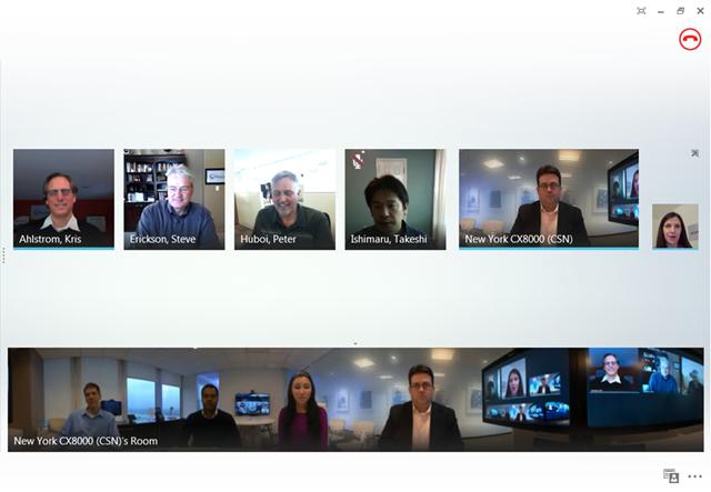 Online Call Meeting Room