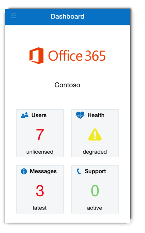 Administer on the go with the updated Office 365 Admin app