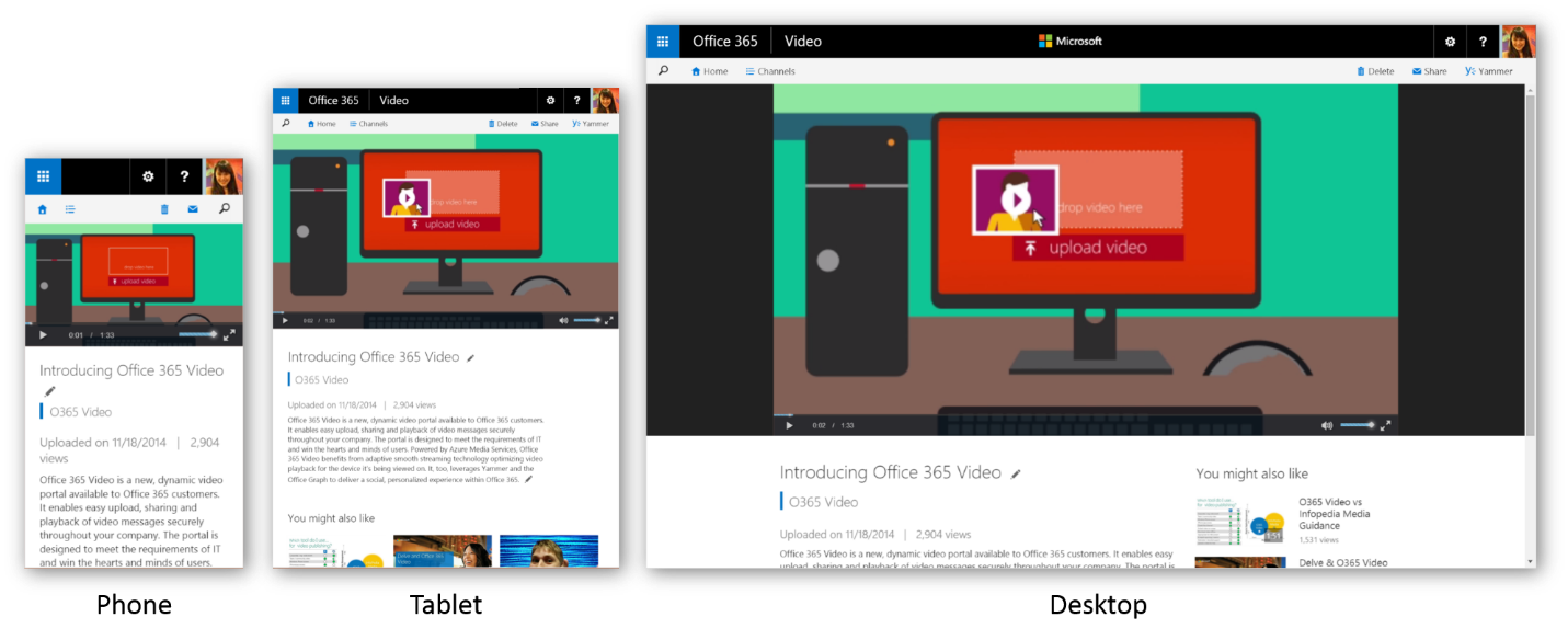 Office 365 Video begins worldwide rollout and gets mobile
