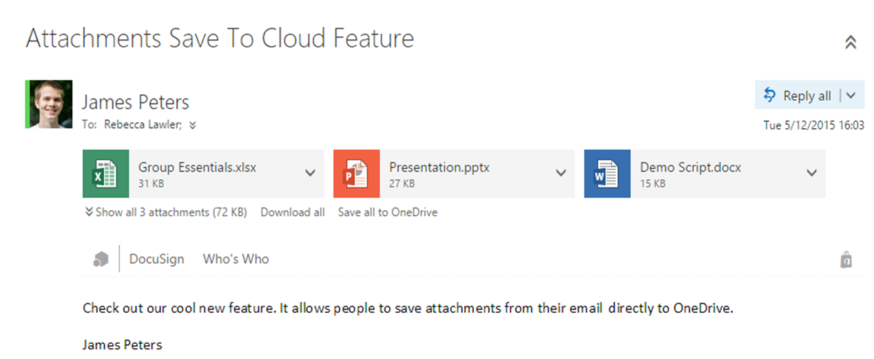 Outlook Web App + OneDrive for Business just got better - Microsoft