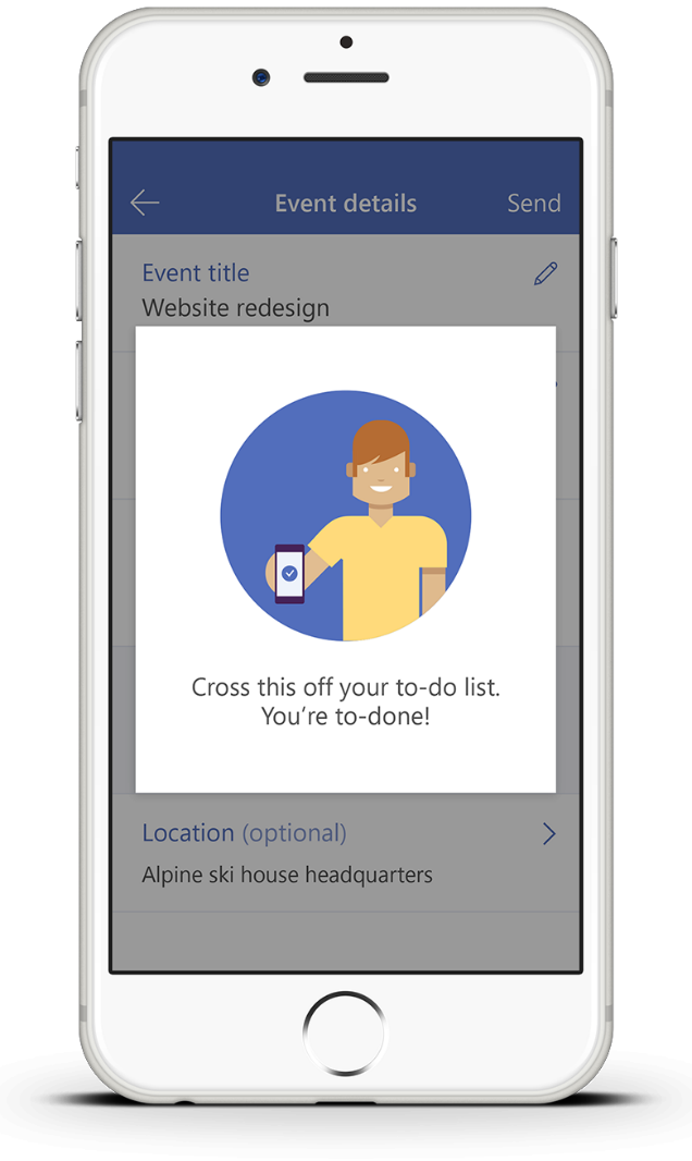 1234567891 Microsoft Way Redmond: Invite—the Easiest Way To Organize Meetings On The Go