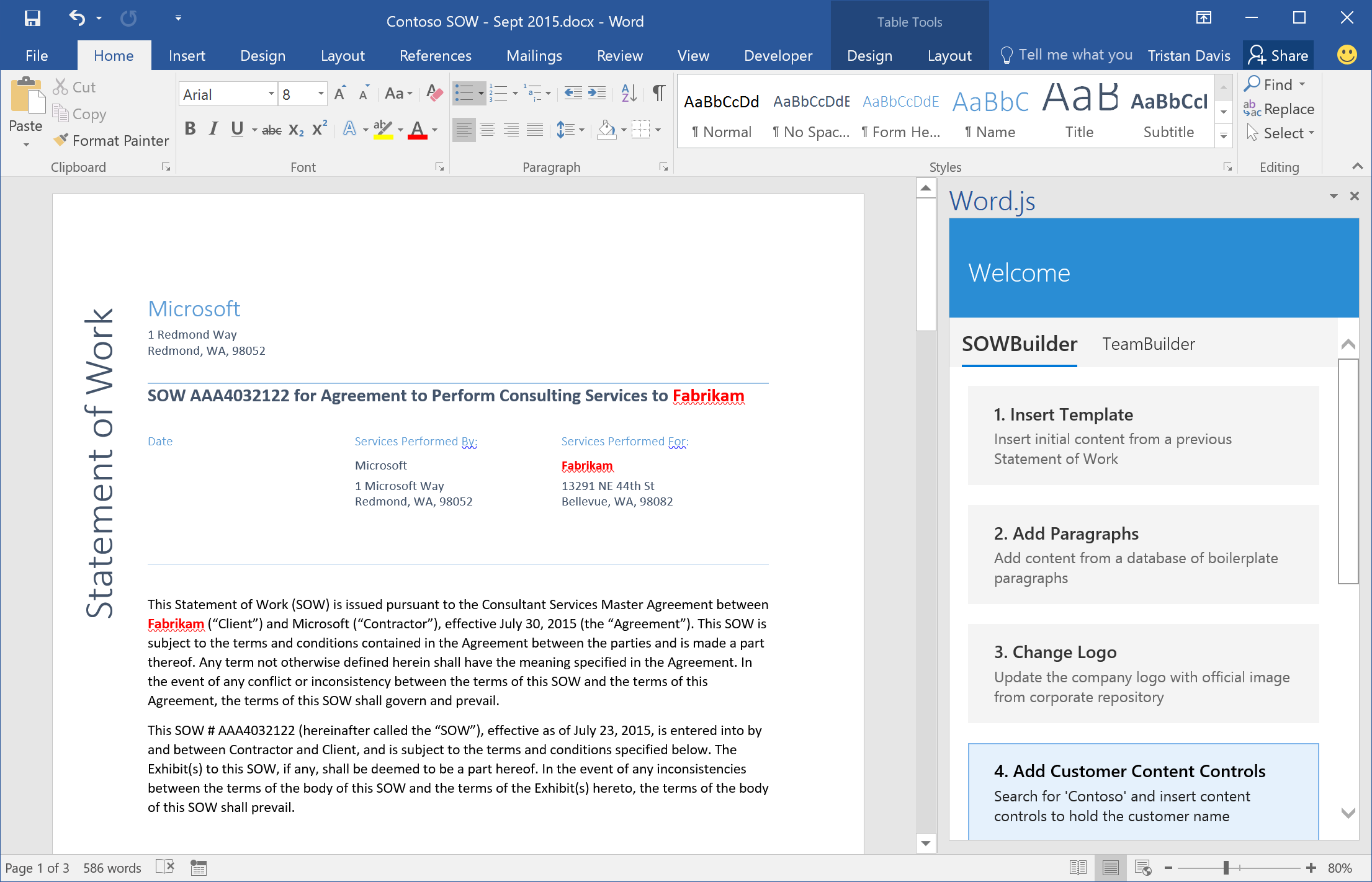 microsoft word 2016 how to delete a page
