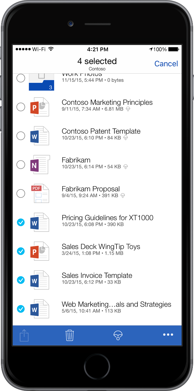 Compare OneDrive for Business plans