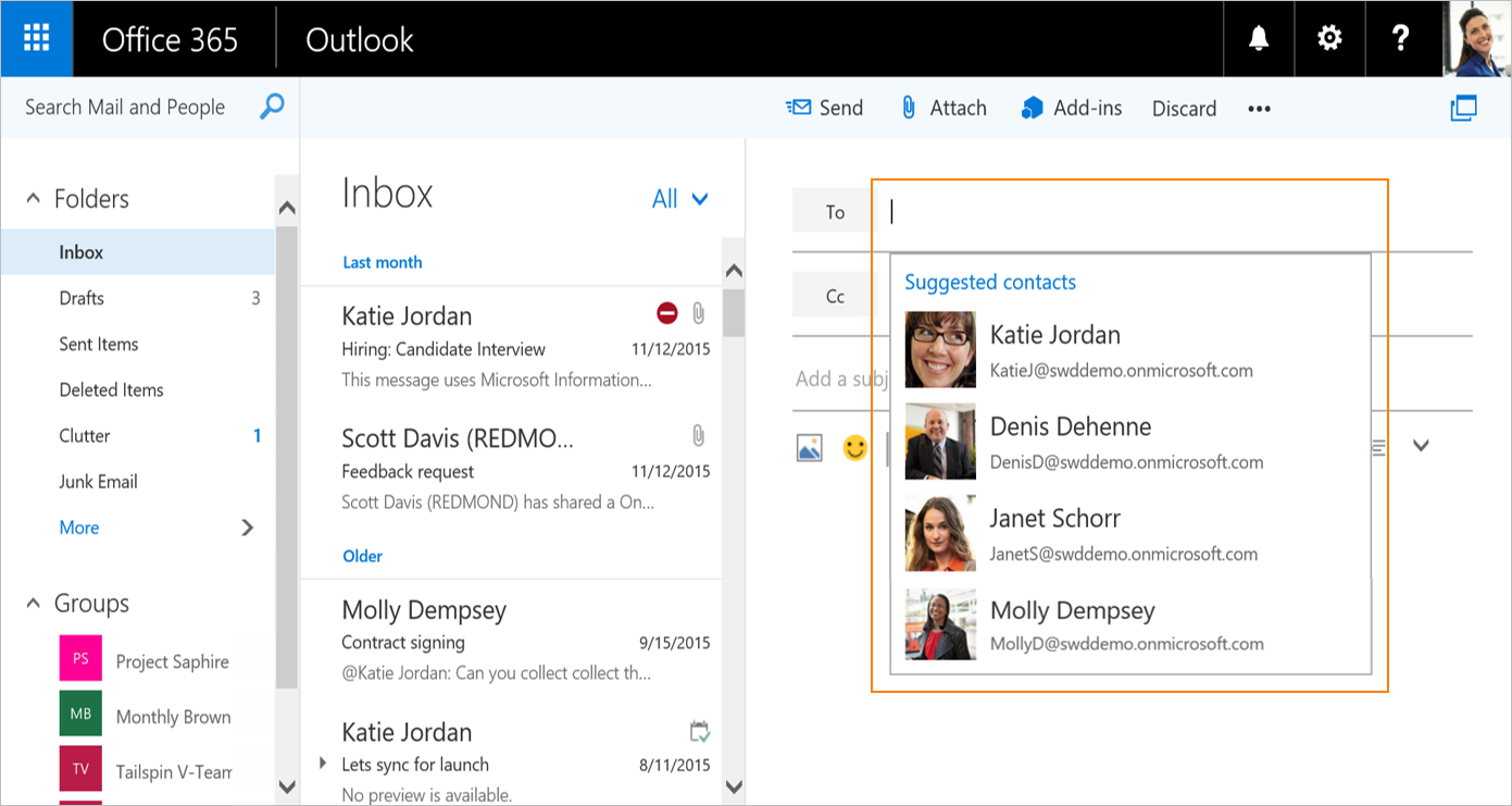 smarter address book and flight confirmations coming to outlook on