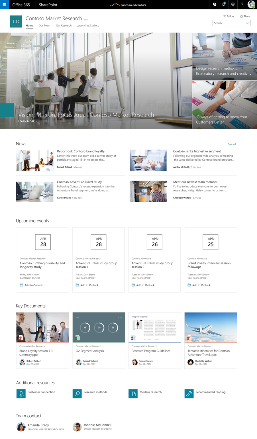 SharePoint communication sites begin rollout to Office 365 customers ...