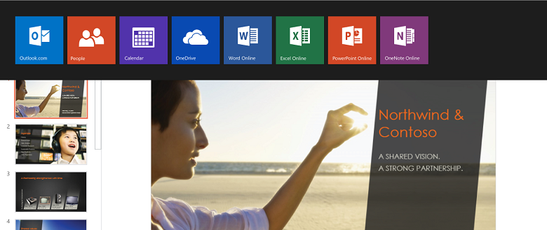 Introducing office online at office microsoft 365 blog app switcher in office online toneelgroepblik Choice Image