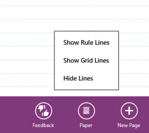 Rule lines